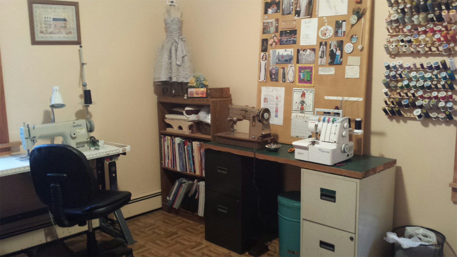 Sewing Room Corner